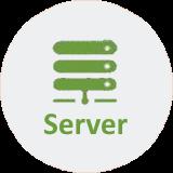vServer Webhoster für EMail und Archivierung, vServer, Hosted-Exchange, VPN und QR Code Kontakterfassung